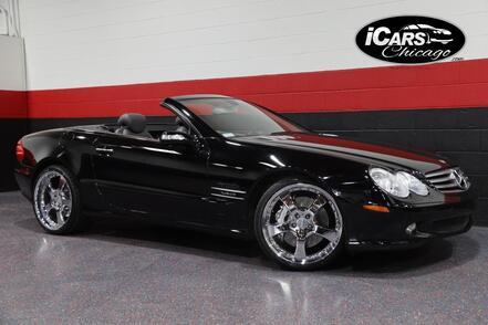 2005_Mercedes-Benz_SL600 V12_2dr Convertible_ Chicago IL