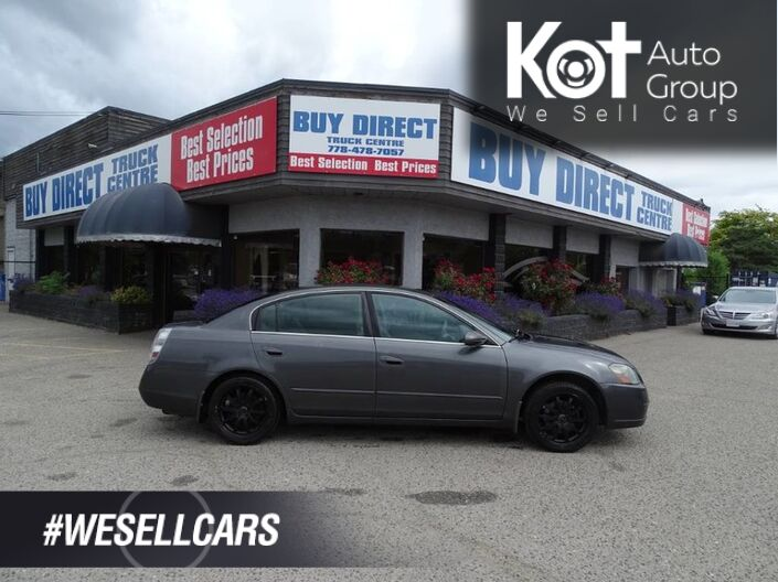 2005 Nissan Altima 2.5 S, Bridgestone Tires, Tinted Back Windows Kelowna BC