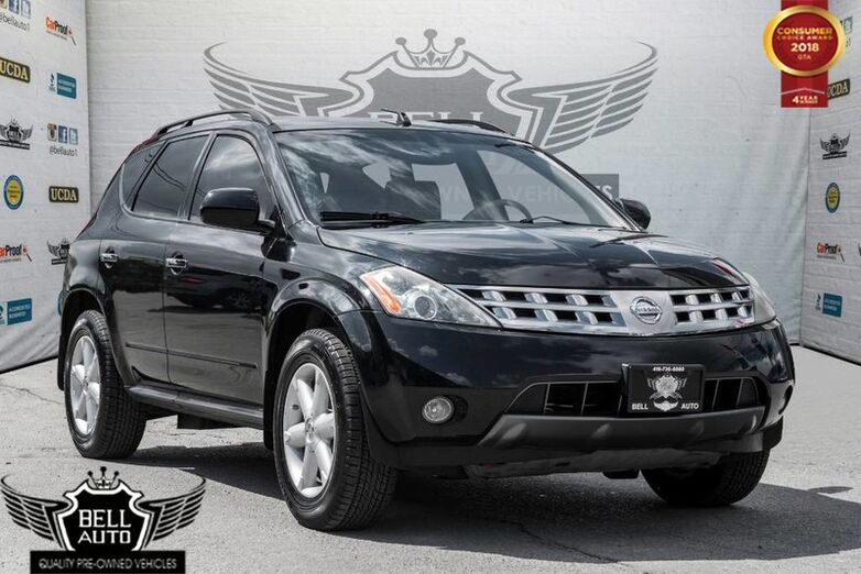2005 Nissan Murano SE SUNROOF LEATHER AWD ALLOY WHEELS Toronto ON