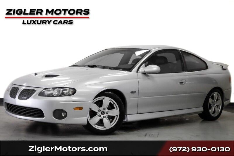 2005 Pontiac GTO Coupe 6.0L V8 400hp Rare 6-Speed Manual Very Low Miles Clean Carfax Addison TX