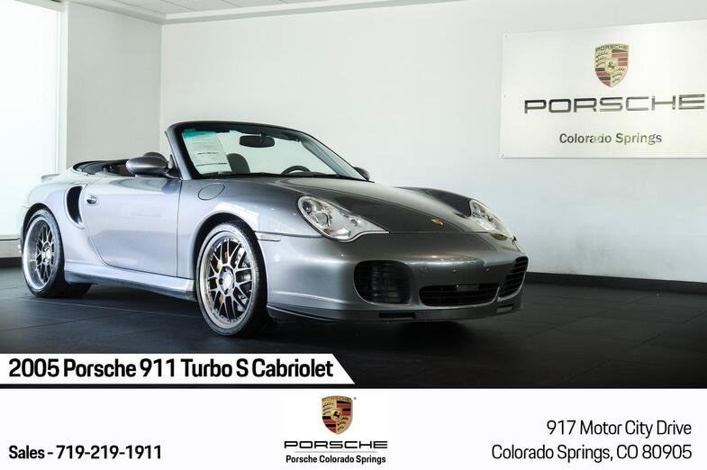 2005 Porsche 911 Turbo S Cabriolet Colorado Springs CO