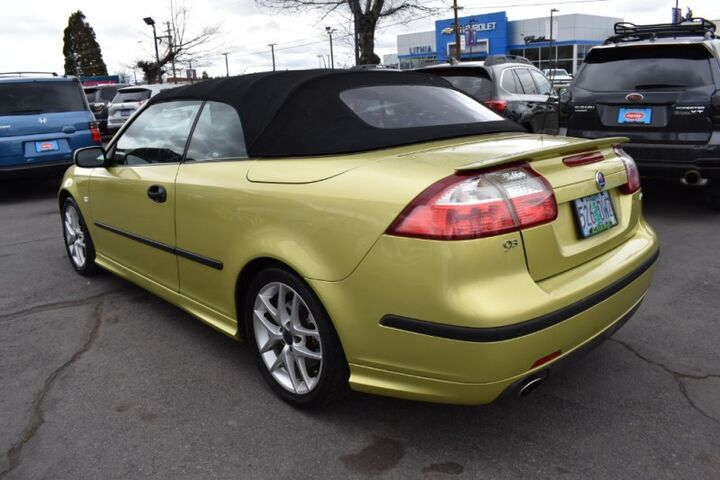 2005 Saab 9 3 Aero Convertible Bend Or