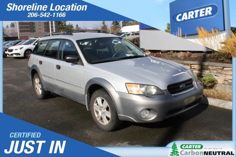 2005 Subaru Legacy Wagon Outback Seattle WA