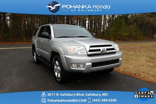 2005_Toyota_4Runner_SR5 V6 ** 45 CARFAX SERVICE RECORDS ** ONE OWNER **_ Salisbury MD