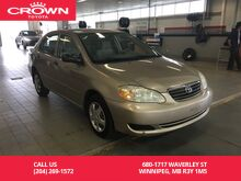 2005_Toyota_Corolla_Sdn CE Auto C Pkg / Local / Great Service History / Safetied / Unbeatable Value_ Winnipeg MB
