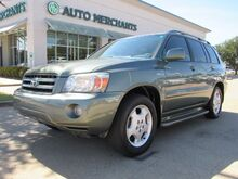 2005_Toyota_Highlander_Limited V6 4WD. THIRD ROW SEATING, LEATHER, HEATED SEATS, SUNROOF, UNIVERSAL GARAGE OPENER,_ Plano TX