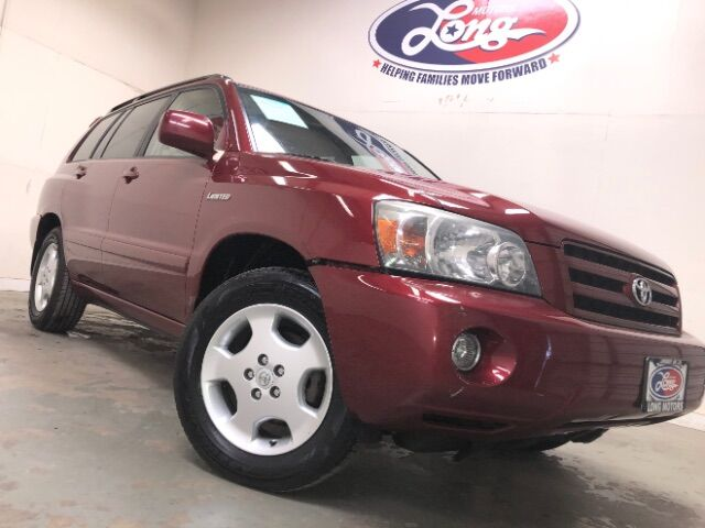 2005 Toyota Highlander V6 2WD with 3rd-Row Seat New Braunfels TX