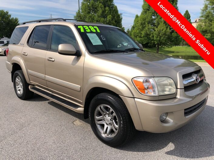 2005 Toyota Sequoia Limited Columbia SC