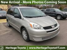 2005 Toyota Sienna LE FWD South Burlington VT