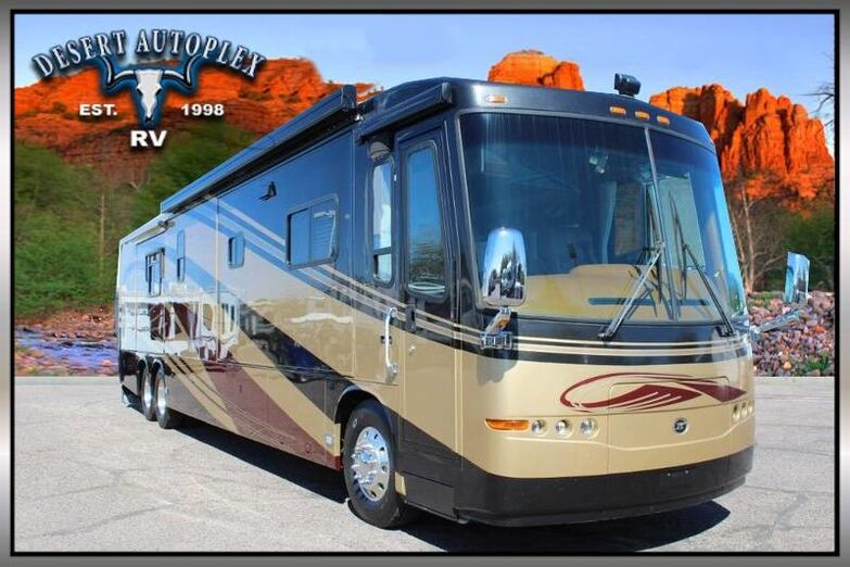 2005 Travel Supreme Select 45 DS04 Quad Slide Diesel 500HP Class A Diesel Pusher RV Mesa AZ