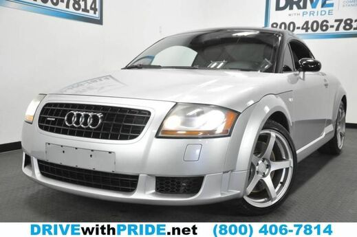 2006 Audi TT SE QUATTRO LIMITED EDITION AWD AUTO LEATHER STS CUSTOM ALLOYS SAT Houston TX