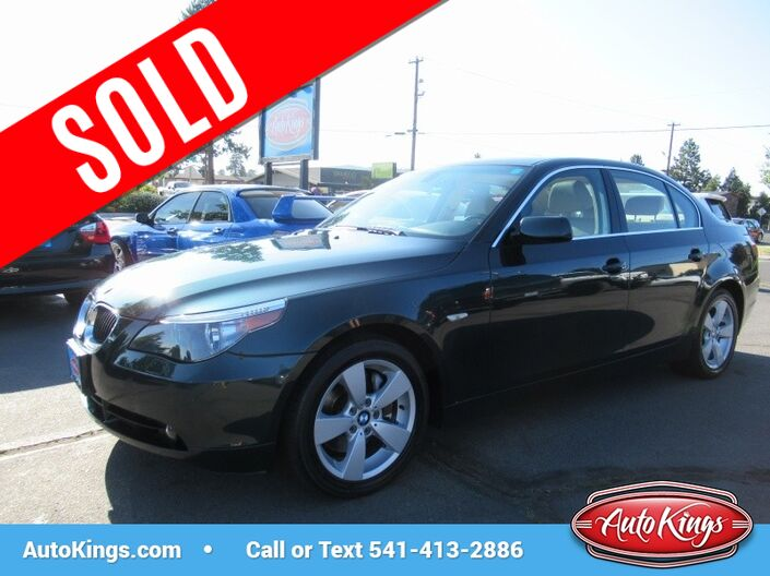 2006 BMW 5-Series 525xi AWD w/Cold Weather Pkg Bend OR