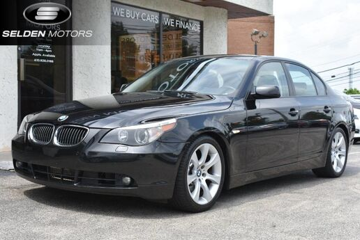 2006 BMW 5 Series 550i Conshohocken PA