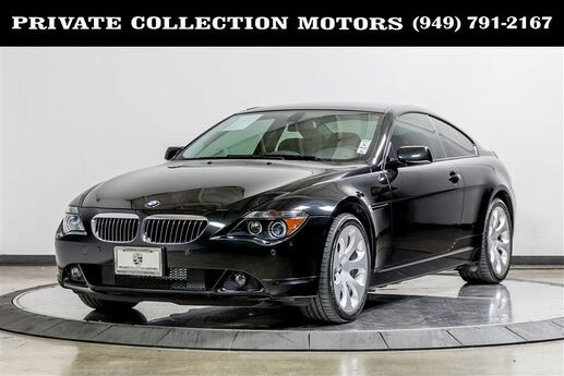 2006 BMW 6 Series 650Ci Costa Mesa CA