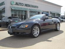 2006_BMW_6-Series_650i Convertible LEATHER, NAVIGATION, PUSH BUTTON START, PHONE BLUETOOTH_ Plano TX