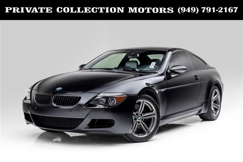 2006 BMW 6 Series M6 Only 22k Miles Clean Carfax Costa Mesa CA