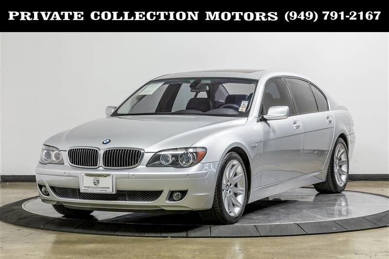 2006 BMW 7-Series 750Li MSRP $79,845 Costa Mesa CA