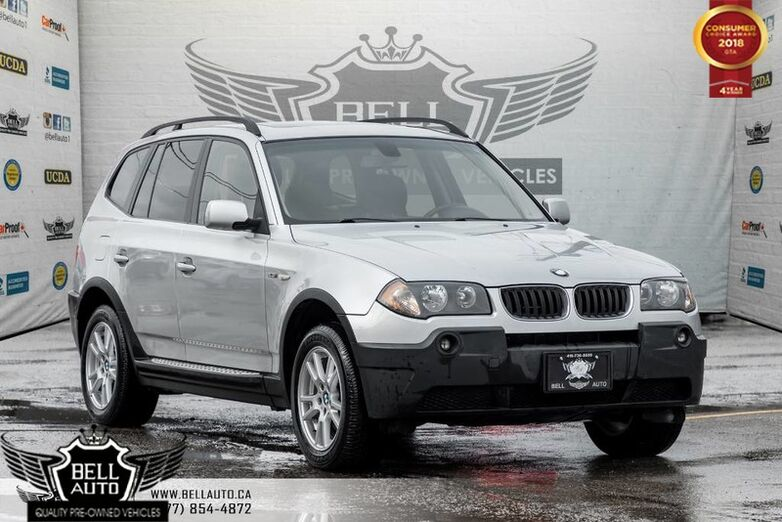 2006 BMW X3 2.5i, LEATHER, HEATED SEATS, PANO ROOF, POWER LOCKS/ WINDOWS Toronto ON