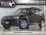 2006 BMW X3 3.0i PANORAMIC SUNROOF LEATHER XENONS