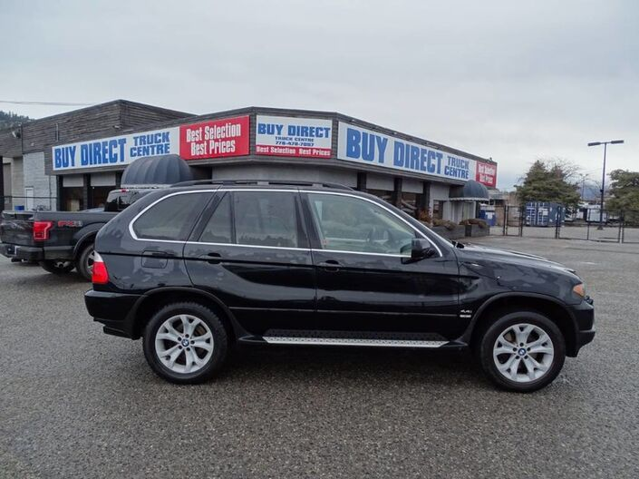 2006 BMW X5 4.4i, Hitch Attachment, Running Boards, All Wheel Drive, 8 Cylinders Kelowna BC