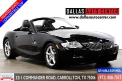 2006_BMW_Z4_Roadster 3.0si_ Carrollton TX