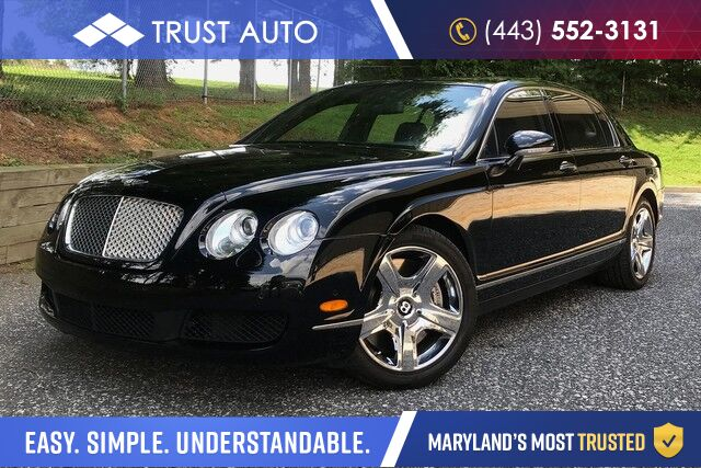 2006 Bentley Continental Flying Spur AWD Luxury Sedan Sykesville MD