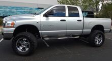 2006_Dodge_Ram 2500 QUAD CAB SLT PKG LOW 114K MILES CLEAN CARFAX_5.9 HO CUMMINS DIESEL 7 SUSP LIFT 37 TIRES ON 20s_ Phoenix AZ