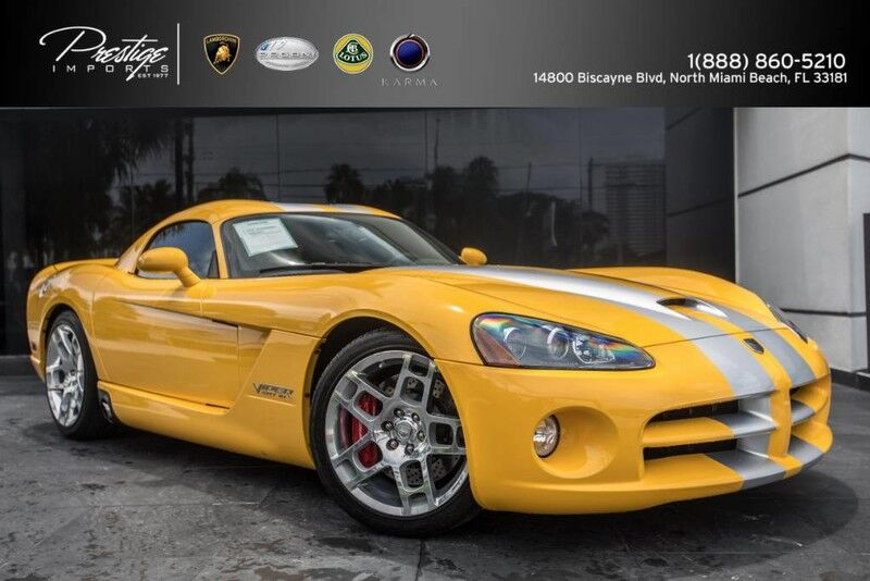 2006_Dodge_Viper_SRT10_ North Miami Beach FL