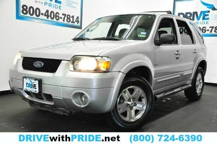 2006 Ford Escape LIMITED REAR SENSORS HEATED LEATHER STS SUNROOF ALLOYS Houston TX