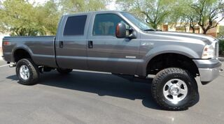 Ford F250 SUPER DUTY CREW LB 4x4 $6K UPGRADES POWERSTROKE DIESEL LIFT NEWER BFG 35s LEATHER 2006