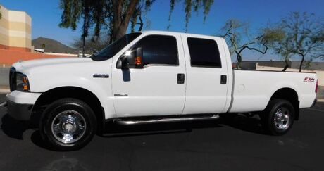 2006 Ford F350 SUPER DUTY 4x4 CREW LB XLT POWERSTROKE TURBO DIESEL 4-WHEEL DRIVE Phoenix AZ