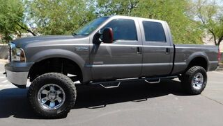 Ford F350 SUPER DUTY 4x4 CREW SB LIFTED w/ 35s MOONROOF POWERSTROKE DIESEL PRO COMP 6 LIFT 35s BEAUTIFUL COND 2006