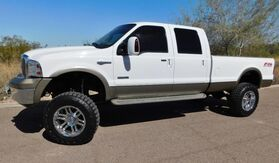 2006_Ford_F350 SUPER DUTY 4x4 KING RANCH CREW LB LOW 108K_POWERSTROKE TURBO DIESEL 6 LIFT NEW 37s ON 20s CLEAN_ Phoenix AZ