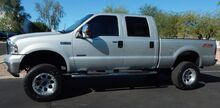 2006_Ford_F350 SUPER DUTY FX4 LARIAT CREW LIFTED UP BEAUTY_BULLET PROOFED POWERSTROKE DIESEL LOW 113K LIFTED BEAUTY_ Phoenix AZ