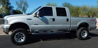 Ford F350 SUPER DUTY FX4 LARIAT CREW LIFTED UP BEAUTY BULLET PROOFED POWERSTROKE DIESEL LOW 113K LIFTED BEAUTY 2006