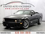2006 Ford Mustang SALEEN Manual Convertible With Low miles