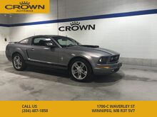 2006_Ford_Mustang_V6 ** Low Kms ** Chrome Rims ** Flowmaster Exhaust** Local Trade In **_ Winnipeg MB