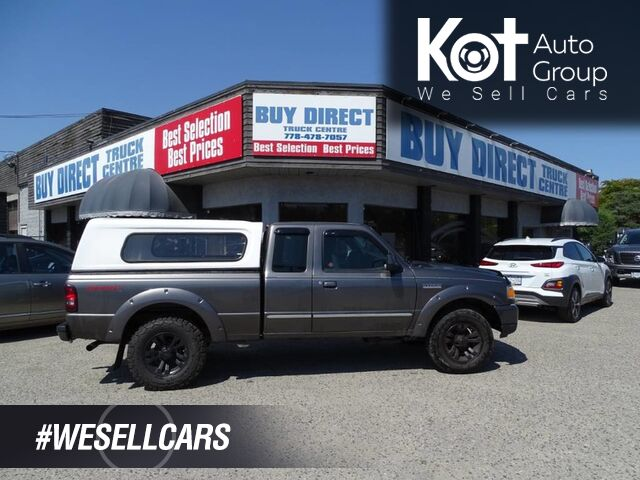 2006 Ford Ranger Sport Aftermarket Deck 2 Hitch Canopy Great Tires