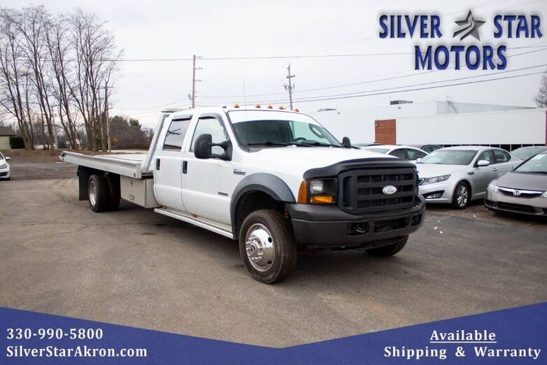 2006 Ford Super Duty F-450 DRW XL Flatbed Towtruck Tallmadge OH