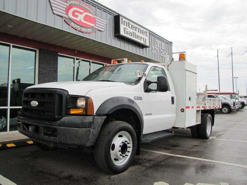 2006 Ford Super Duty F-550 Diesel Flatbed XL