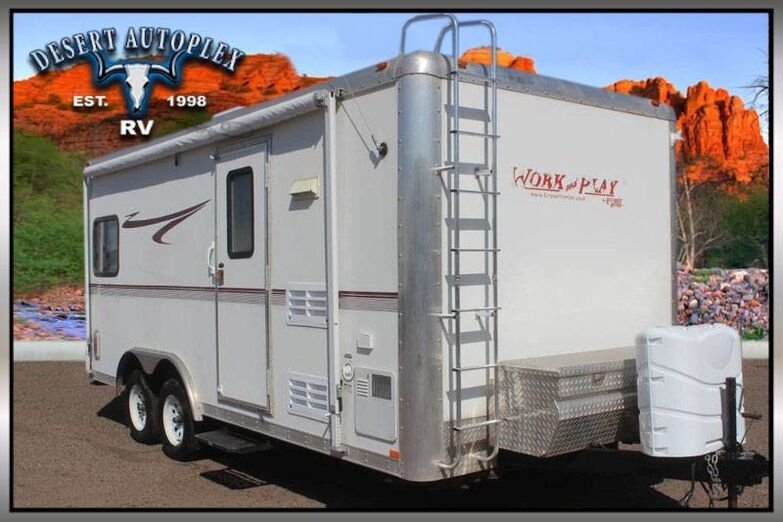 2006 Forest River Work and Play 18LT Toy Hauler Travel Trailer Mesa AZ