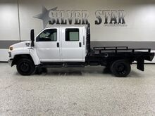 2006_GMC_CC5500_Top Kick CrewCab FlatBed Duramax_ Dallas TX