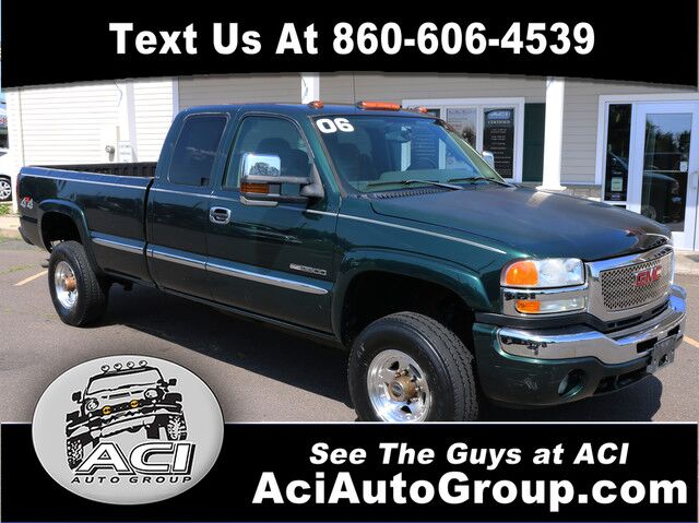 2006 GMC Sierra 3500 SRW Work Trk East Windsor CT