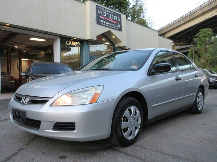 2006 HONDA ACCORD VALUE W Conshohocken PA