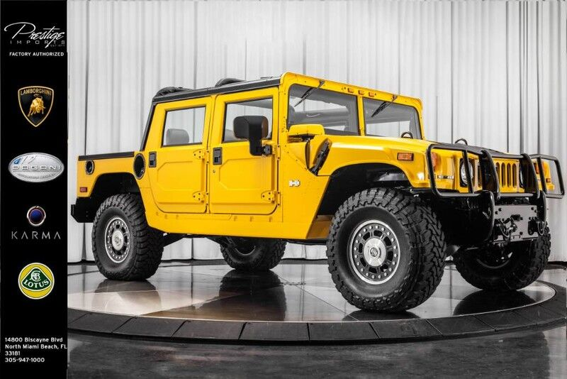 2006 HUMMER H1  North Miami Beach FL