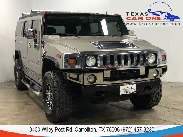 2006 HUMMER H2 4WD AUTOMATIC LEATHER HEATED SEATS BOSE SOUND RUNNING BOARDS TOWING HITCH Carrollton TX