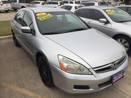 2006 Honda Accord LX Sedan Austin TX