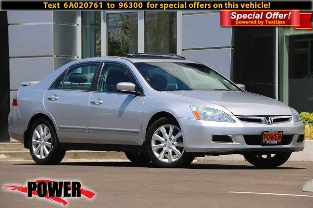 2006 Honda Accord Sdn LX V6 Corvallis OR