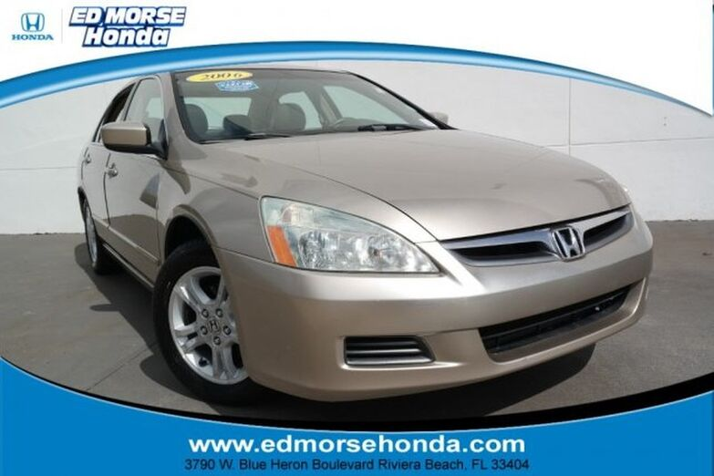 2006 Honda Accord Sedan EX-L AT PZEV Riviera Beach FL