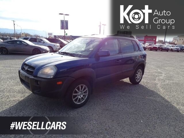2006 Hyundai Tucson GL w/Leather Pkg, Heated Seats Kelowna BC